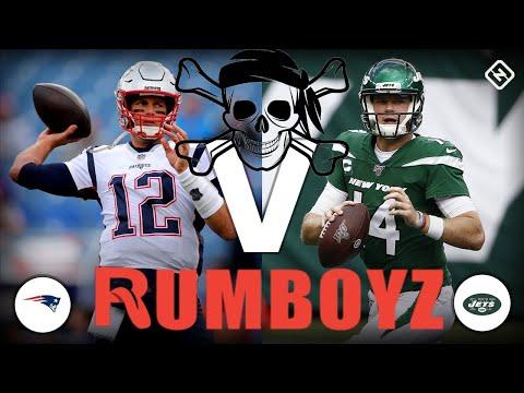 Monday Night Football New England Patriots vs New York Jets