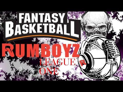 Fantasy Basketball Rumboyz Listener's League Live Draft #NBA