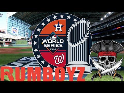 MLB World Series Game 1 Washington Nationals vs Houston Astros