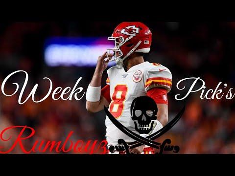 NFL Week 8 picks with ESPNLA's Roj Grobes #NFL #NFL100