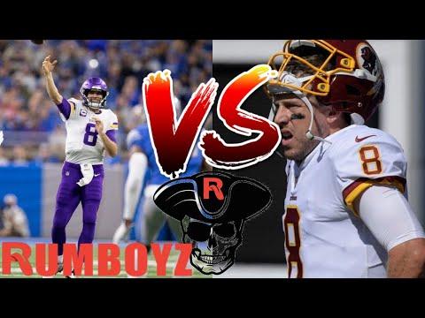Thursday Night Football Washington Redskins vs Minnesota Vikings