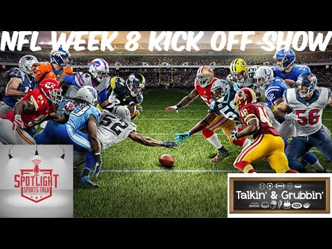 SpotLight Sports Talk NFL Week 8 Kick Off Show