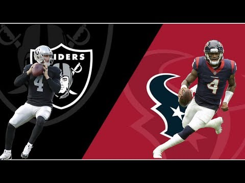 Oakland Raiders Vs Houston Texans Live Play By Play & Reactions