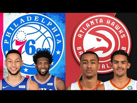 NBA STREAM: Philadelphia 76ers Vs Atlanta Hawks  Live Play By Play & Reactions (2ND HALF)