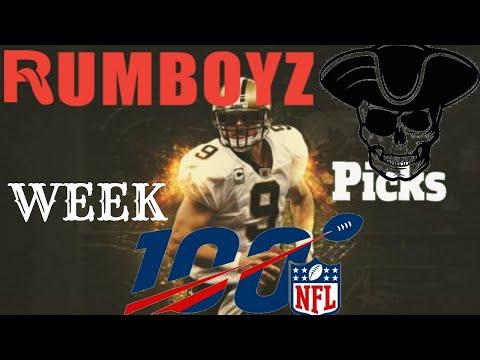 NFL Week 9 picks with ESPNLA's Roj Grobes #NFL #NFL100