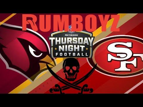 Thursday Night Football San Francisco 49ers vs Arizona Cardinals