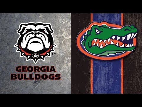 #8 Georgia Bulldogs Vs #6 Florida Gators | Live Play By Play & Reactions