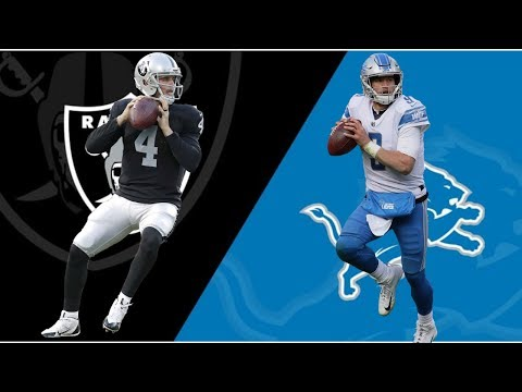 Detroit Lions Vs Oakland Raiders Week 9 Preview Madden 20
