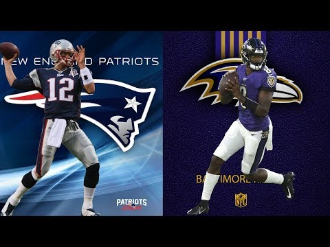 New England Patriots Vs Baltimore Ravens | Live Play By Play & Reactions