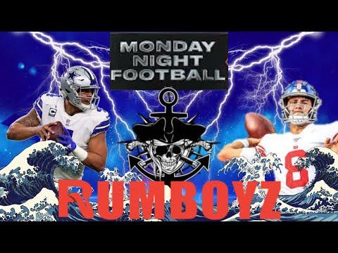 Monday Night Football: Dallas Cowboys vs New York Giants