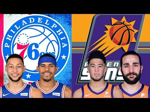Philadelphia 76ers Vs Phoenix Suns | Live Play By Play & Reactions
