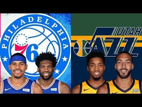 Philadelphia 76ers Vs Utah Jazz  | Live Play By Play & Reactions