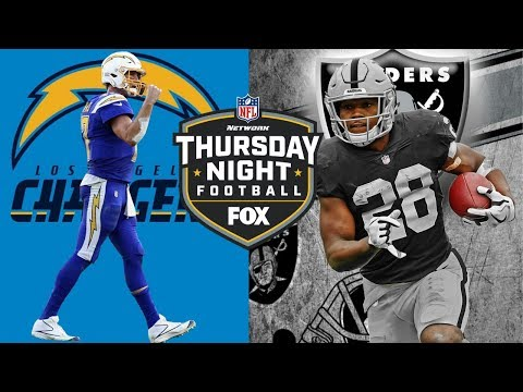 Los Angeles Chargers Vs Oakland Raiders TNF  | Live Play By Play & Reactions