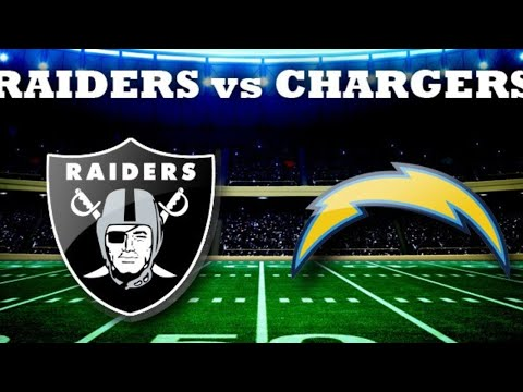 Chargers vs Raiders Live Stream Play By Play And Reaction