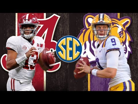#1 LSU Tigers Vs #2 Alabama Crimson Tide | Live Play By Play & Reactions