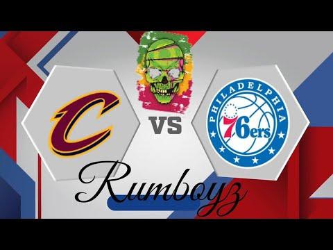 NBA Basketball: Cleveland Cavilers vs Philadelphia 76ers