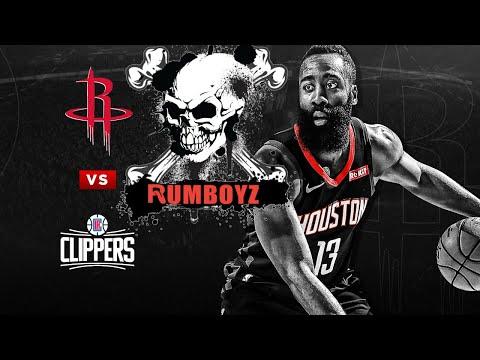 NBA Basketball: Los Angeles Clippers vs Houston Rockets