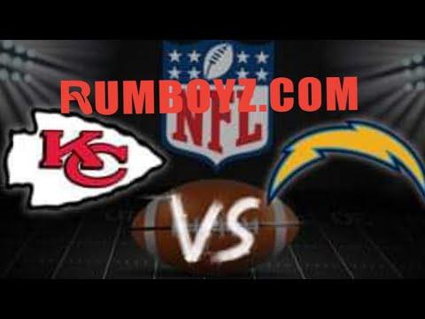Monday Night Football Kansas City Chiefs vs Los Angeles Chargers