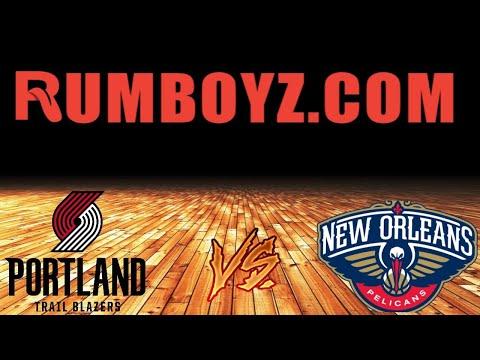 NBA Basketball Portland Trail Blazers vs New Orleans Pelicans #NBA