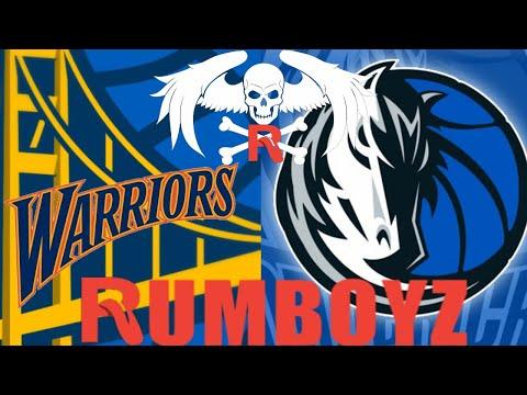 NBA Basketball Golden State Warriors vs Dallas Mavericks