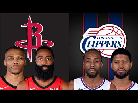 NBA STREAM: Houston Rockets Vs Los Angeles Clippers  | Live Play By Play & Reactions