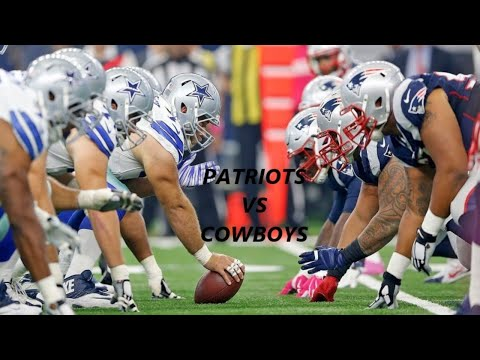 New England Patriots vs Dallas Cowboys Live stream Play By Play And Reaction