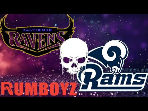 Monday Night Football Baltimore Ravens vs Los Angeles Rams