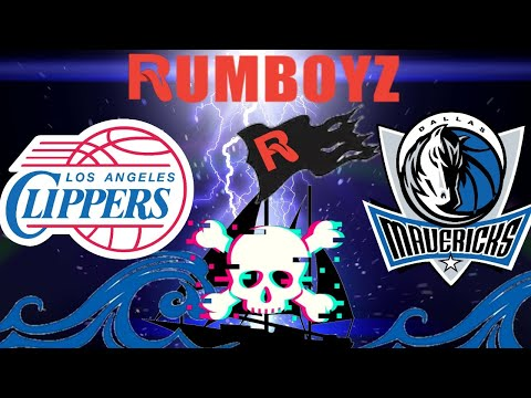 NBA Basketball Los Angeles Clippers vs Dallas Mavericks