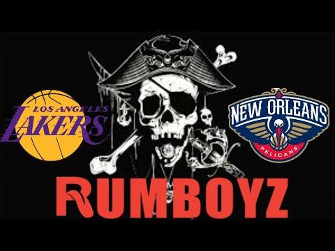 NBA Basketball Los Angeles Lakers vs New Orleans Pelicans