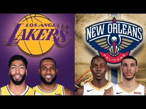 NBA STREAM: Los Angeles Lakers Vs New Orleans Pelicans | Live Play By Play & Reactions