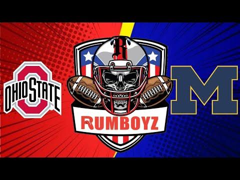 College Football Ohio State Buckeyes vs Michigan Wolverines