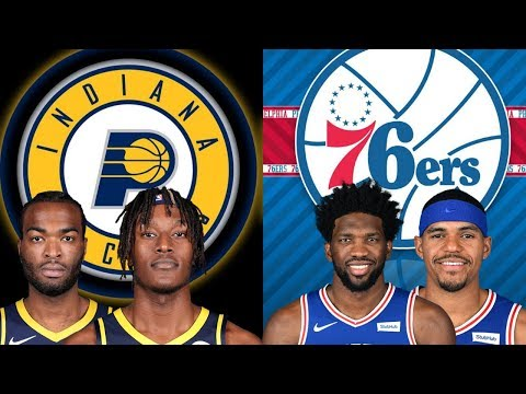 NBA STREAM: Indiana Pacers Vs Philadelphia 76ers | Live Play By Play & Reactions