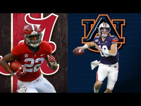 IRON BOWL: Alabama CrimsonTide Vs Auburn Tigers | NCAA College Football Live Stream