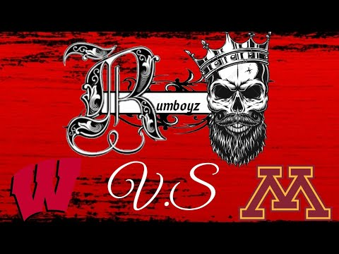 College Football Wisconsin Badgers vs Minnesota Golden Gophers