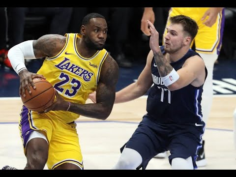 LUKA VS LEBRON!! Mavs VS Lakers