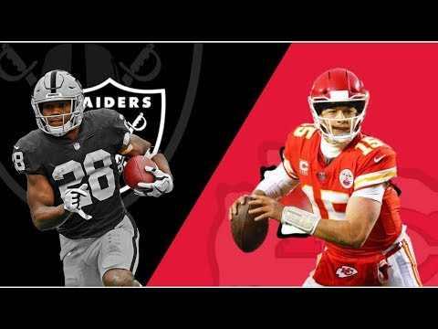 Oakland Raiders Vs Kansas City Chiefs | Live Play By Play & Reactions
