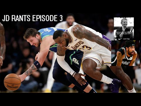 JD Rants about Kyrie's health, Luka or Lebron?, Jason Garrett/Jerry Jones. Q/A/Network – 003