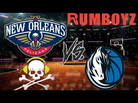 NBA Basketball Dallas Mavericks vs New Orleans Pelicans