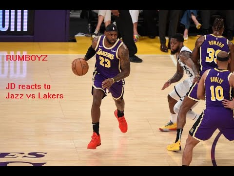 LAKERS VS JAZZ Rumboyz Reaction! 8:00PM Central! 🔥🔥🔥🔥🔥🔥