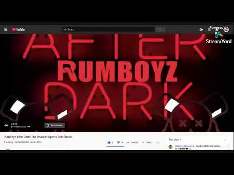 RUMBOYZ AFTER DARK! (Join Chat on Rumboyz Fantasy Sports Network!)