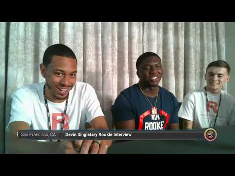 Devin Singletary Buffalo Bills Rookie Interview