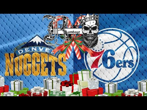 NBA Basketball Denver Nuggets vs Philadelphia 76ers