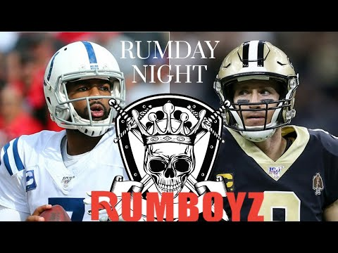 Monday Night Football Indianapolis Colts vs New Orleans Saints