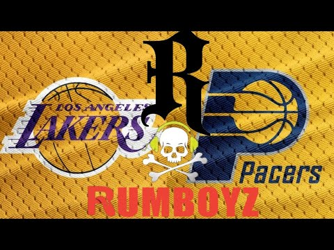 NBA Basketball Los Angeles Lakers vs Indiana Pacers