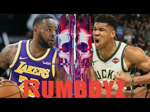 NBA Basketball Los Angeles Lakers vs Milwaukee Bucks