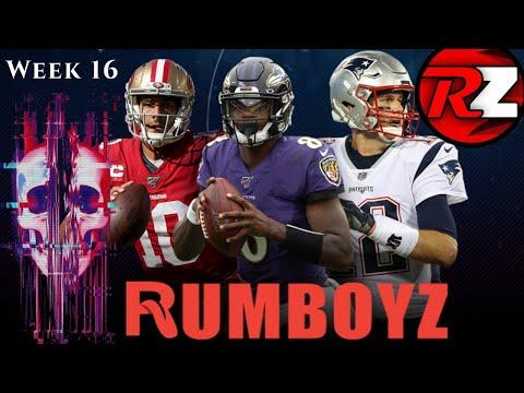 NFL RUMZONE Week 16! #NFL #NFL100
