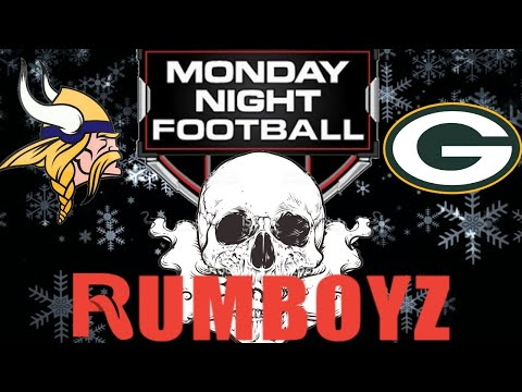 Monday Night Football Green Bay Packers vs Minnesota Vikings #MNF