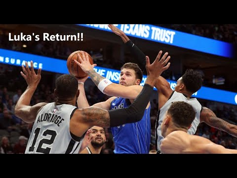 Luka's return, Mavs Vs Spurs reaction