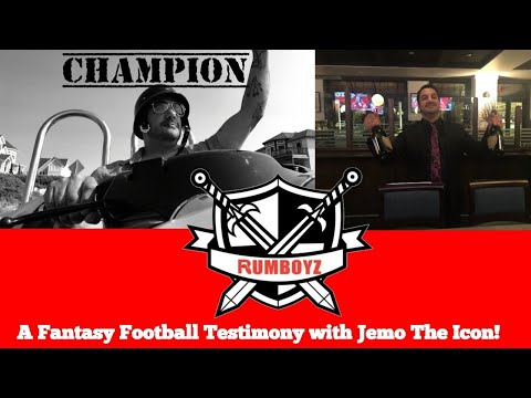 A Fantasy Football Testimony with Jemo The Icon