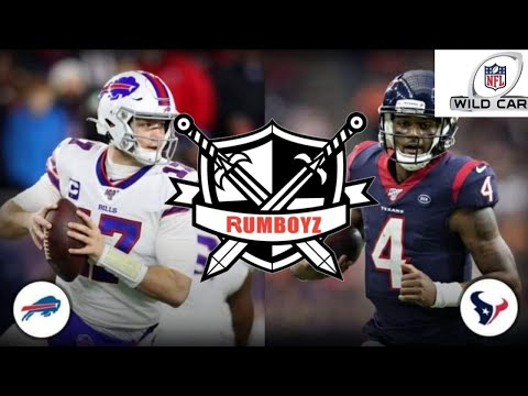 AFC Wild Card Playoffs Buffalo Bills vs Houston Texas